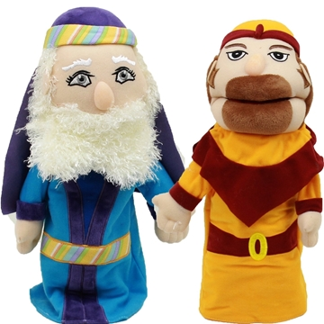 תמונה של פאפאלך - בובות תיאטרון - יצר טוב ויצר רע