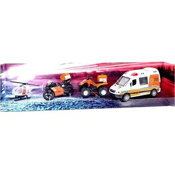 תמונה של סט מכוניות הצלה