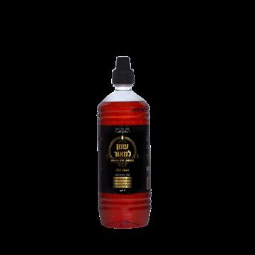 תמונה של שמן למאור - שמן צבעוני להדלקה - אדום